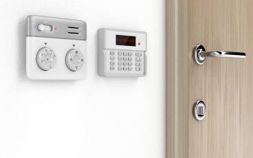 Alarm control security system
